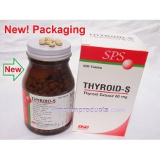 Thyroid-S Dietary Supplement 1000 Tablets